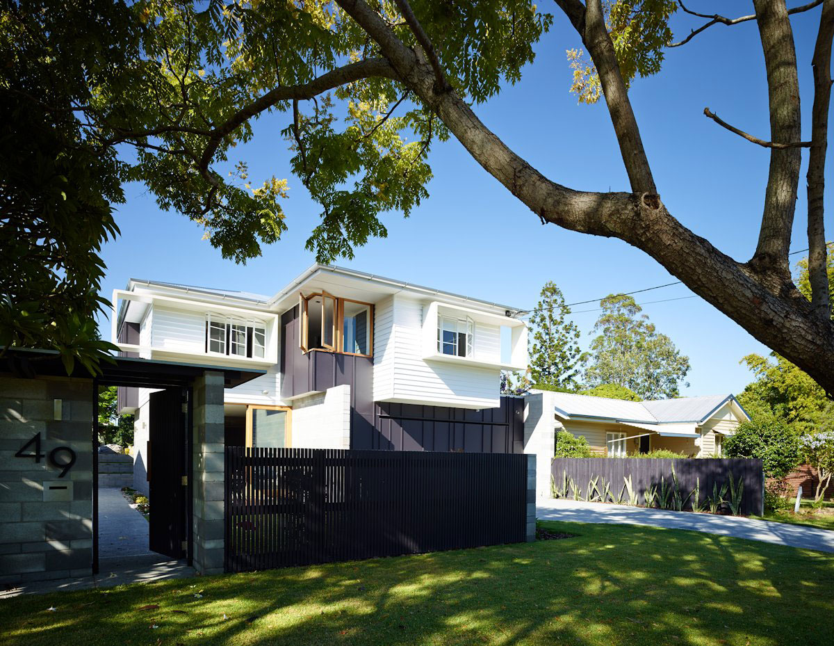 The Terraced House by Shaun Lockyer Architects