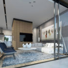 Two Storey Apartment in Tel Aviv by Ando Studio (1)
