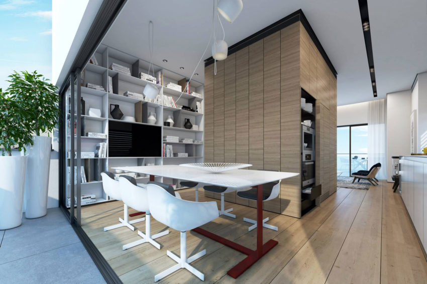 Two Storey Apartment in Tel Aviv by Ando Studio (5)