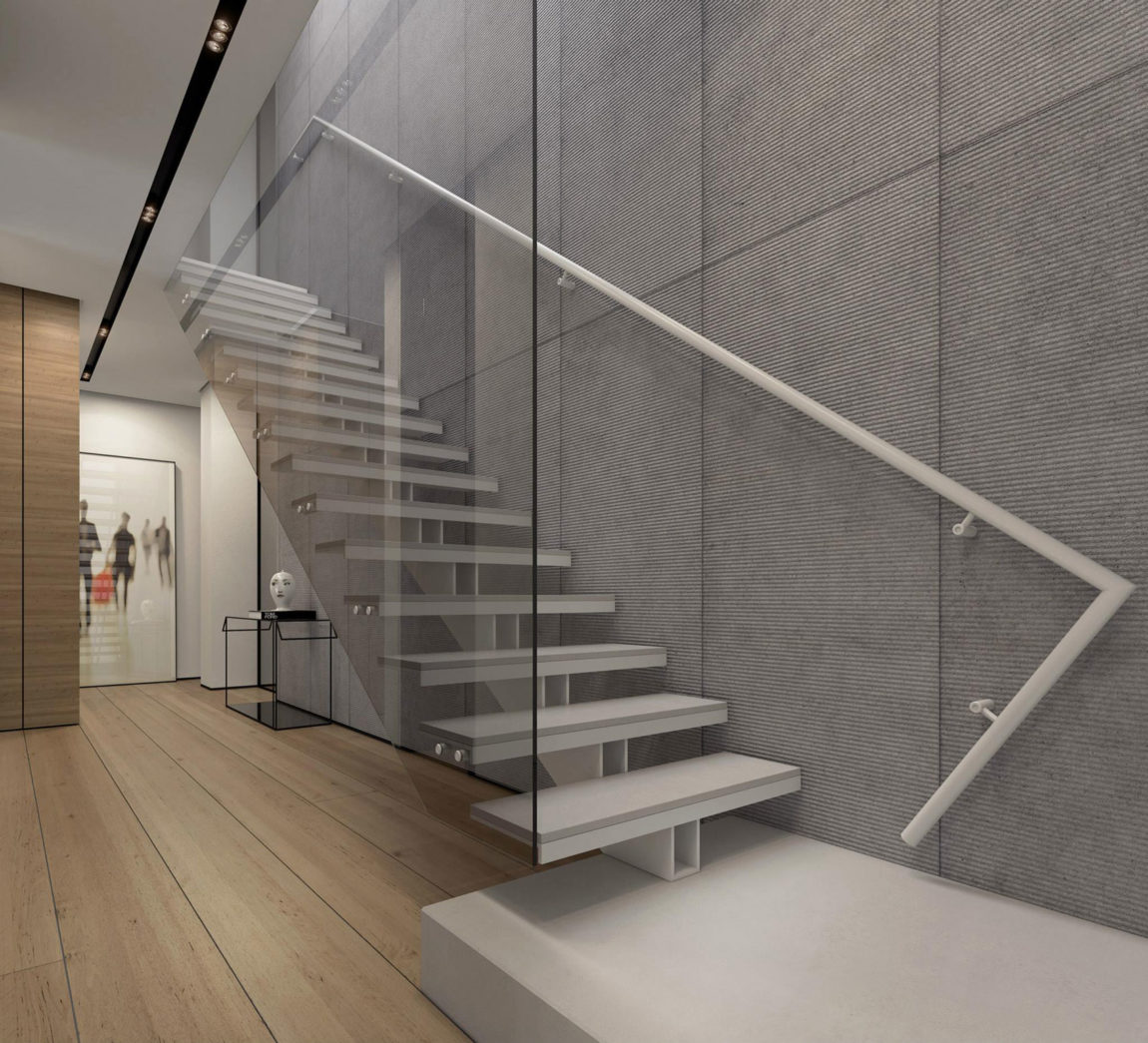 Two Storey Apartment in Tel Aviv by Ando Studio (6)