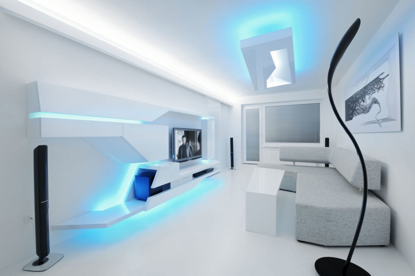 White Apartment by Next Level Studio (3)