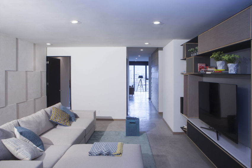 Apt in Bosques de las Lomas by Taller David Dana Arq (2)