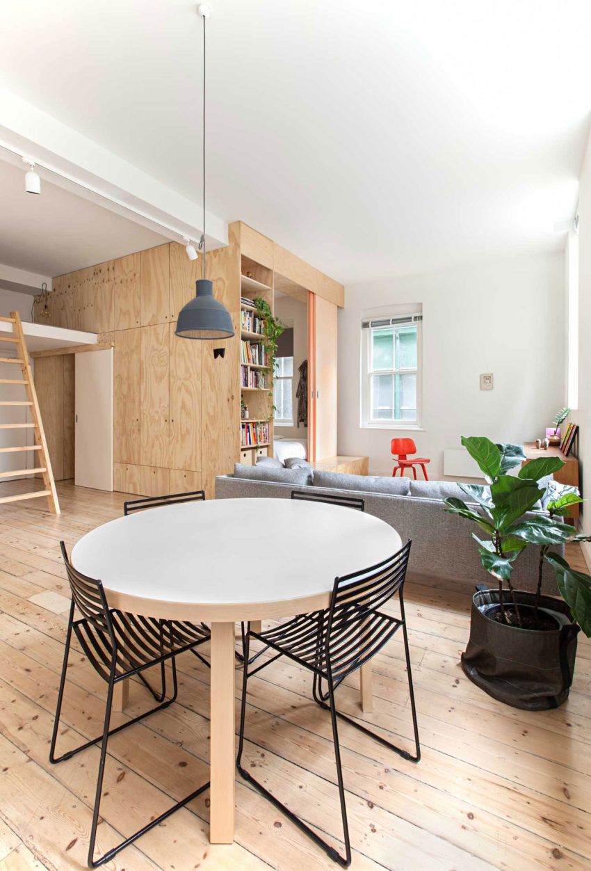 Flinders Lane Apartment by Clare Cousins Architects (8)