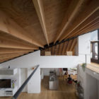 House with a Large Hipped Roof by Naoi Architecture (7)