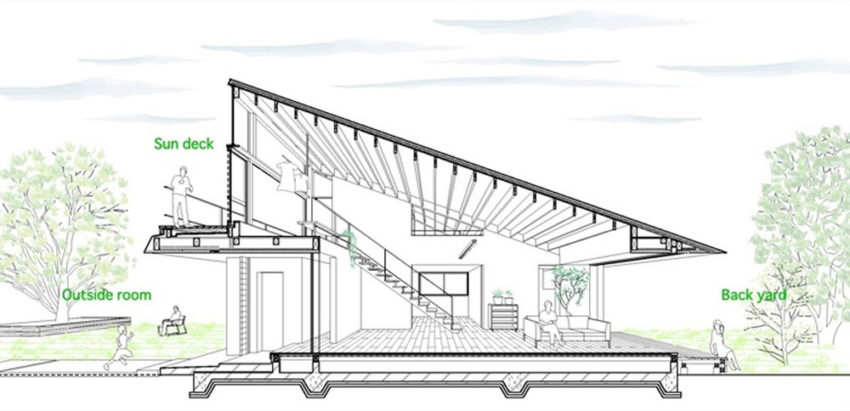 House with a Large Hipped Roof by Naoi Architecture (16)