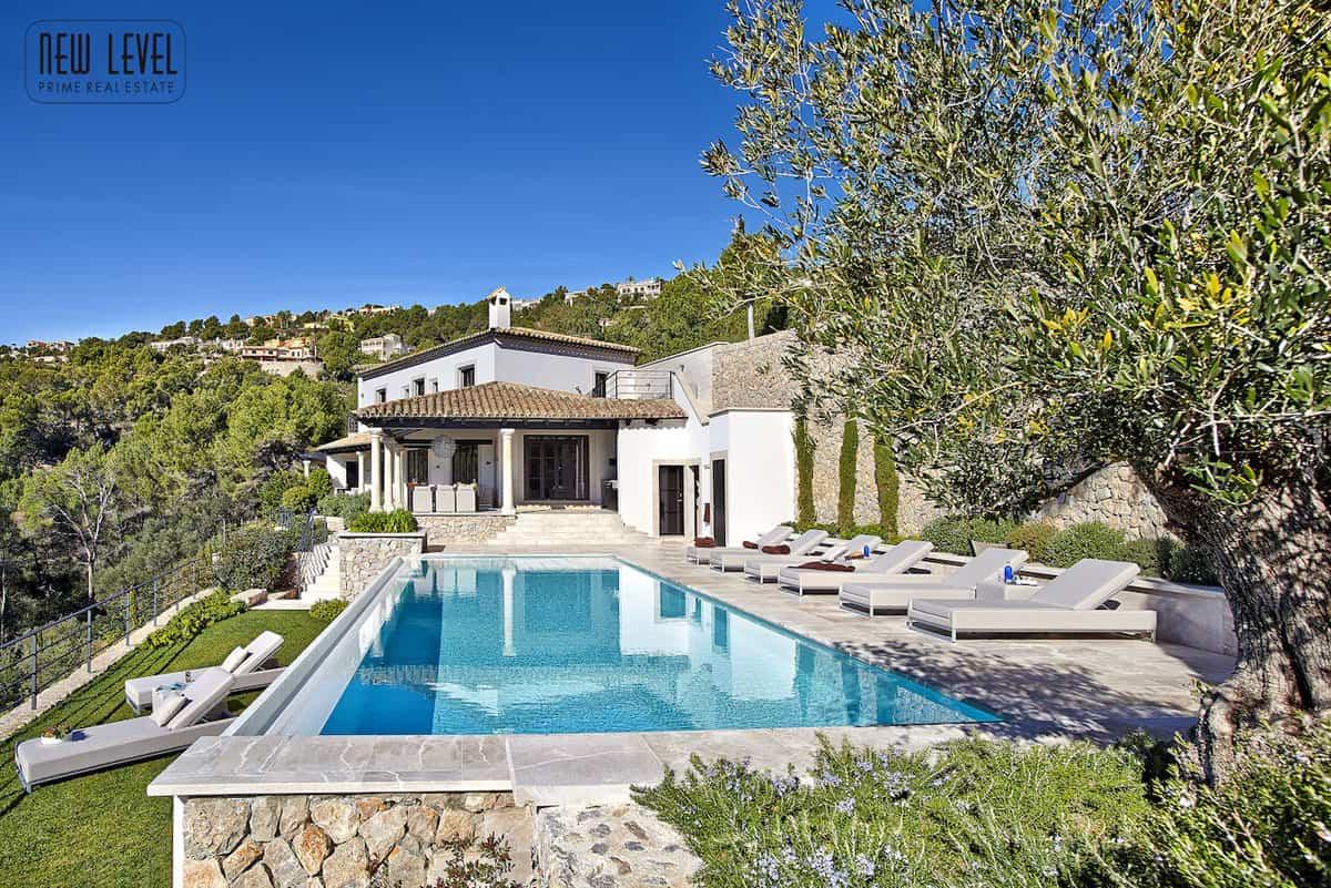 Luxury Villa with great views in Puerto de Andratx