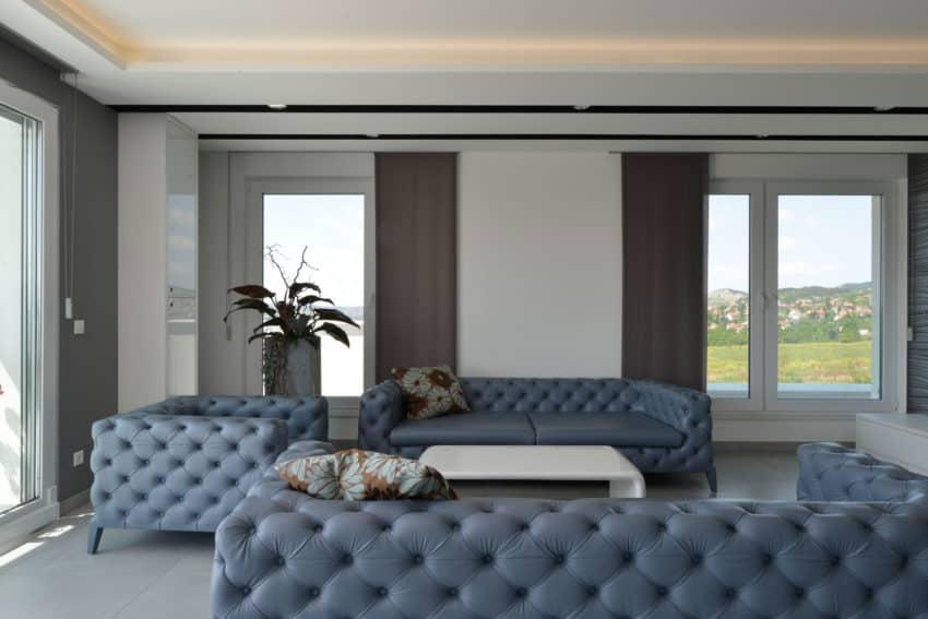 Minimalist Penthouse by Adamdesign Belsőépítész Studio (3)
