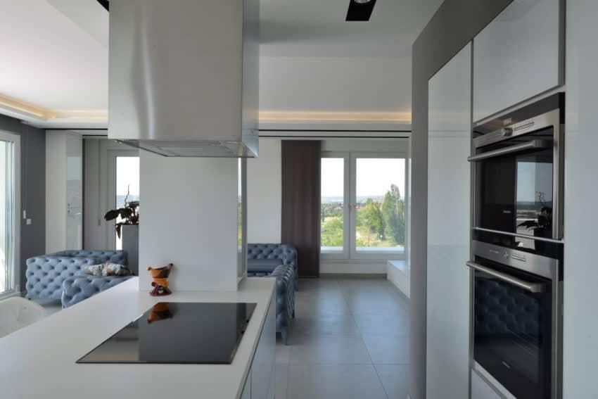 Minimalist Penthouse by Adamdesign Belsőépítész Studio (8)