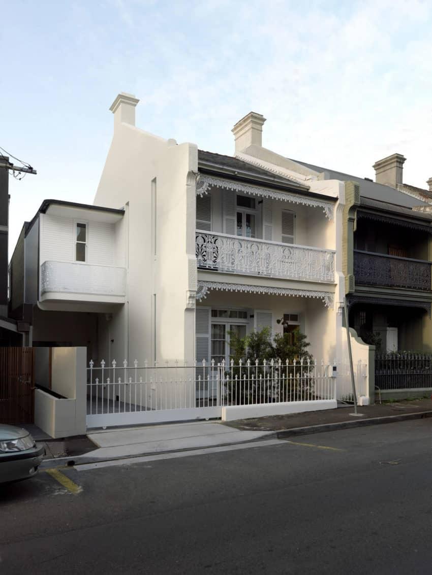 Paddington Terrace House by Luigi Rosselli Architects (1)