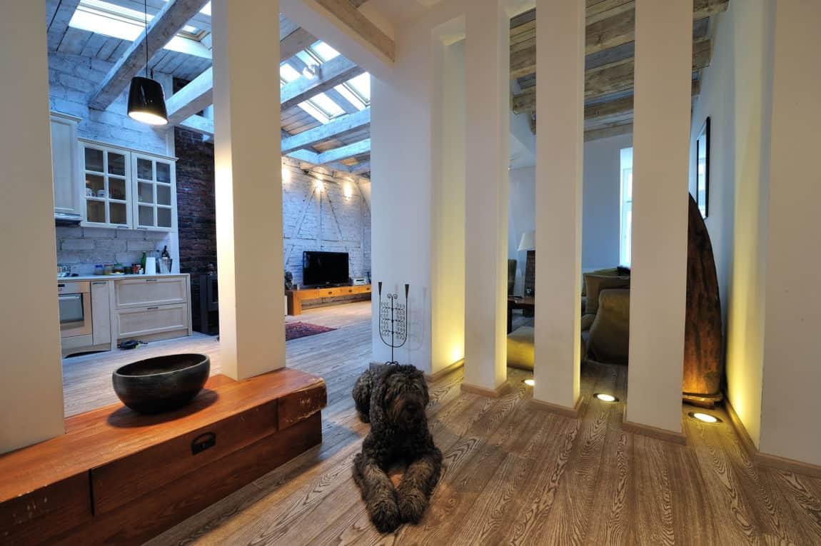 Restored Penthouse in Belgrade by PUJO.RS (2)