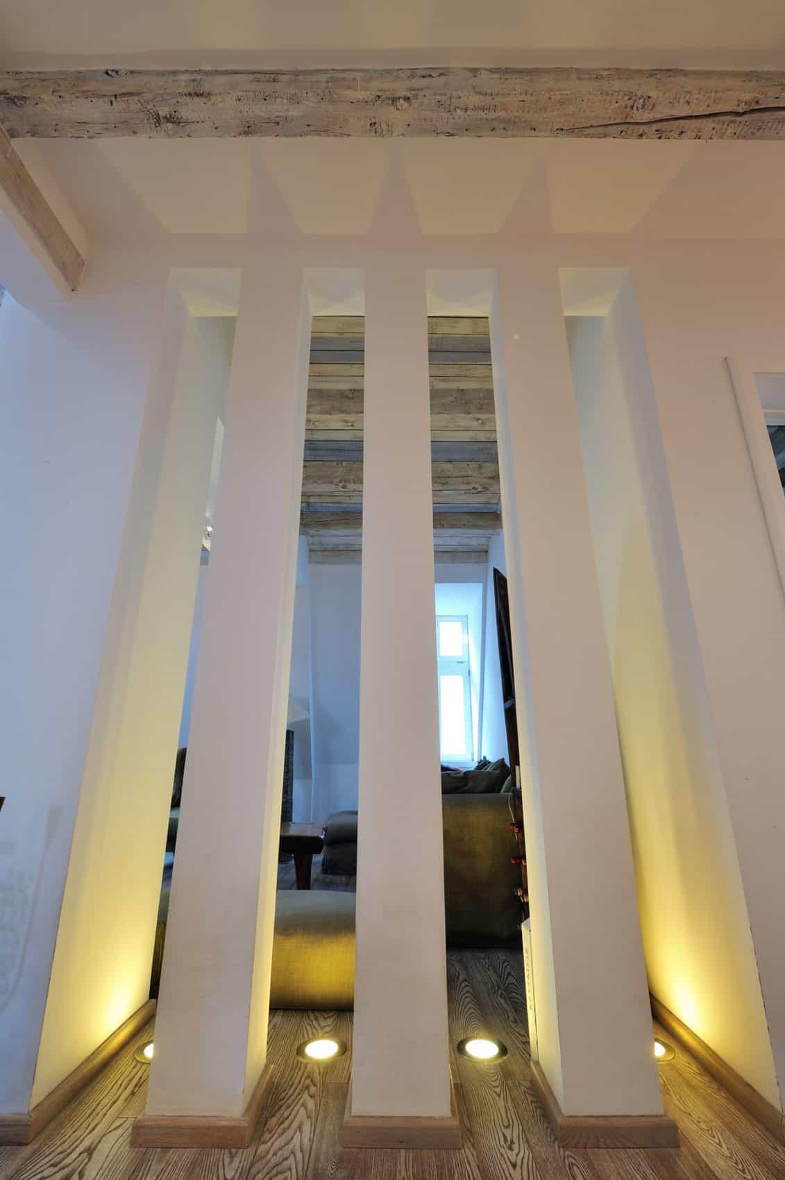 Restored Penthouse in Belgrade by PUJO.RS (3)