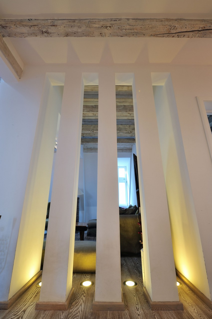 Restored Penthouse in Belgrade by PUJO.RS (3)