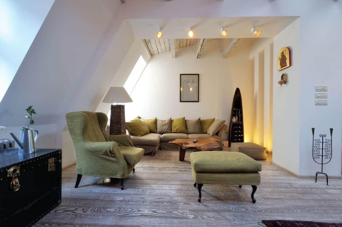 Restored Penthouse in Belgrade by PUJO.RS (6)