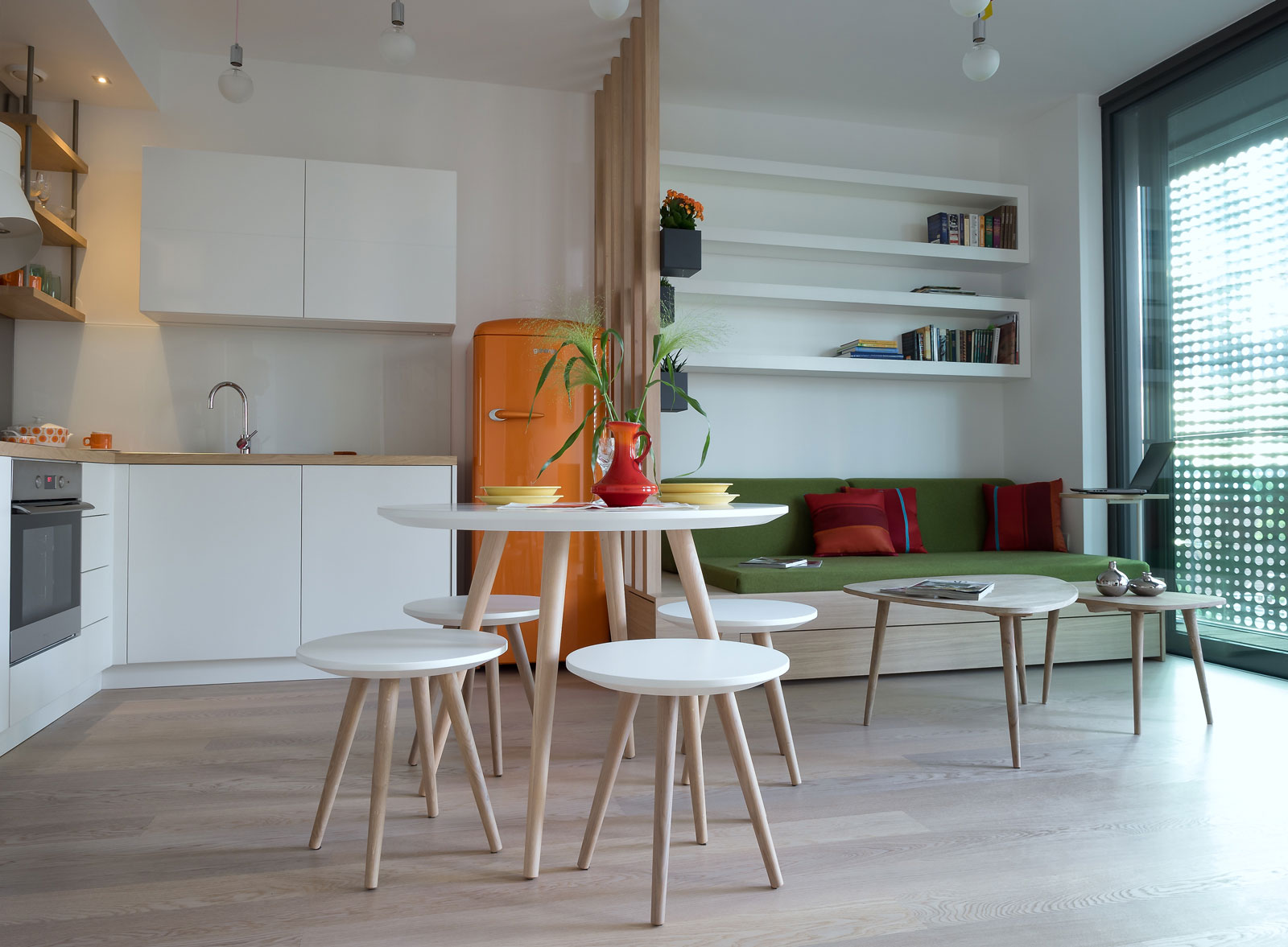 Apartment in Ljubljana by GAO architects