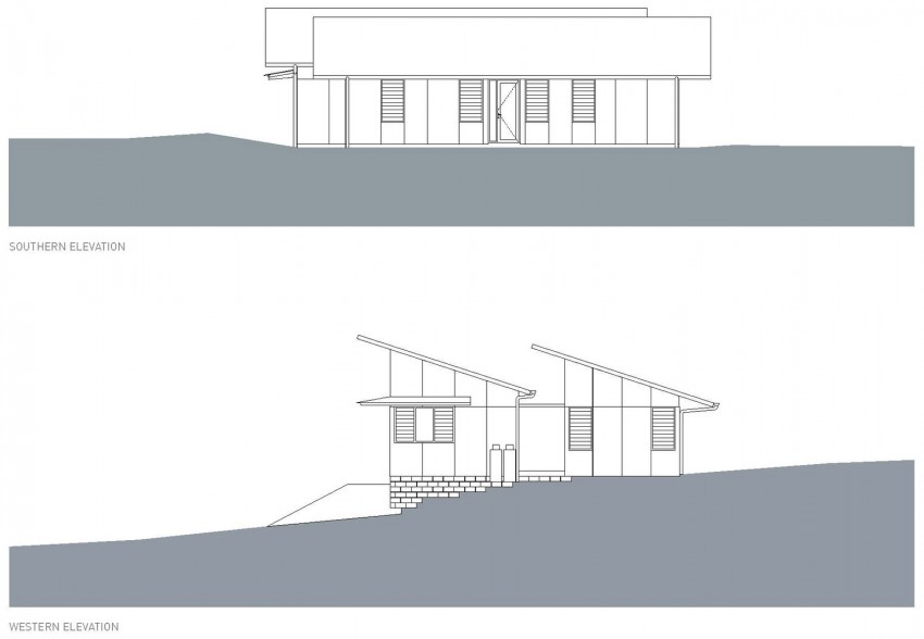 Dogtrot House by Dunn & Hillam Architects (13)