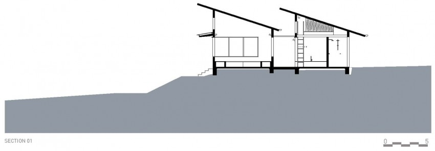 Dogtrot House by Dunn & Hillam Architects (14)