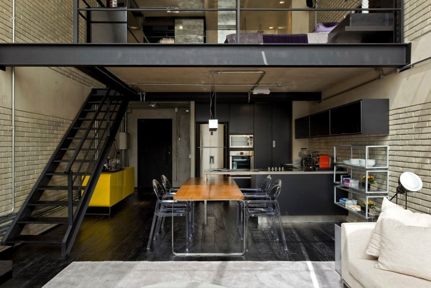 View in gallery Industrial Loft by Diego Revollo Arquitetura (11)