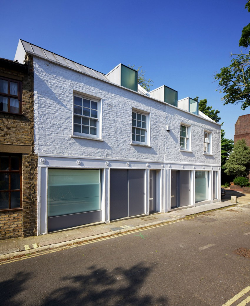 Mews House Primrose Hill 2 by Robert Dye Architects (3)