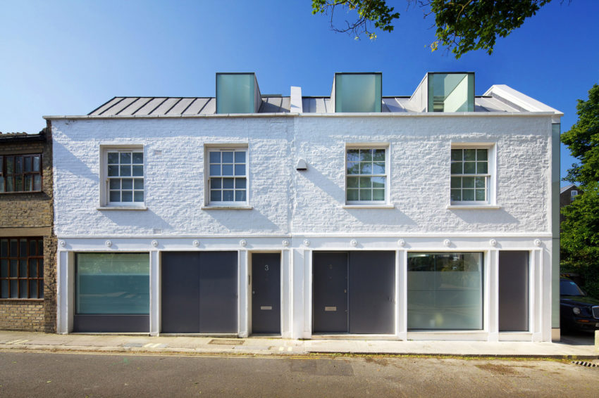 Mews House Primrose Hill 2 by Robert Dye Architects (4)