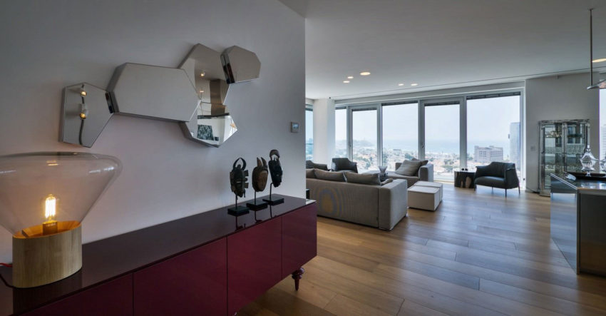 Rothschild 1 Tower Condominium by Lev Gargir Architects (1)