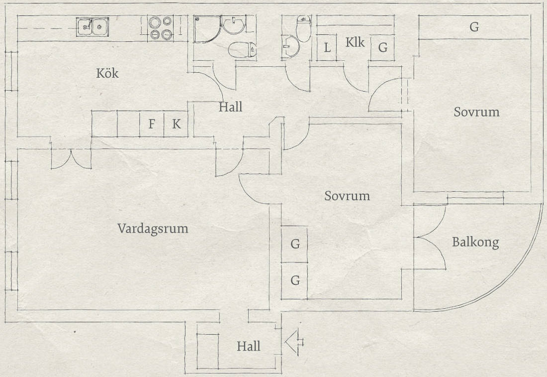 Spacious Apartment Overlooking Skansen Kronan (24)