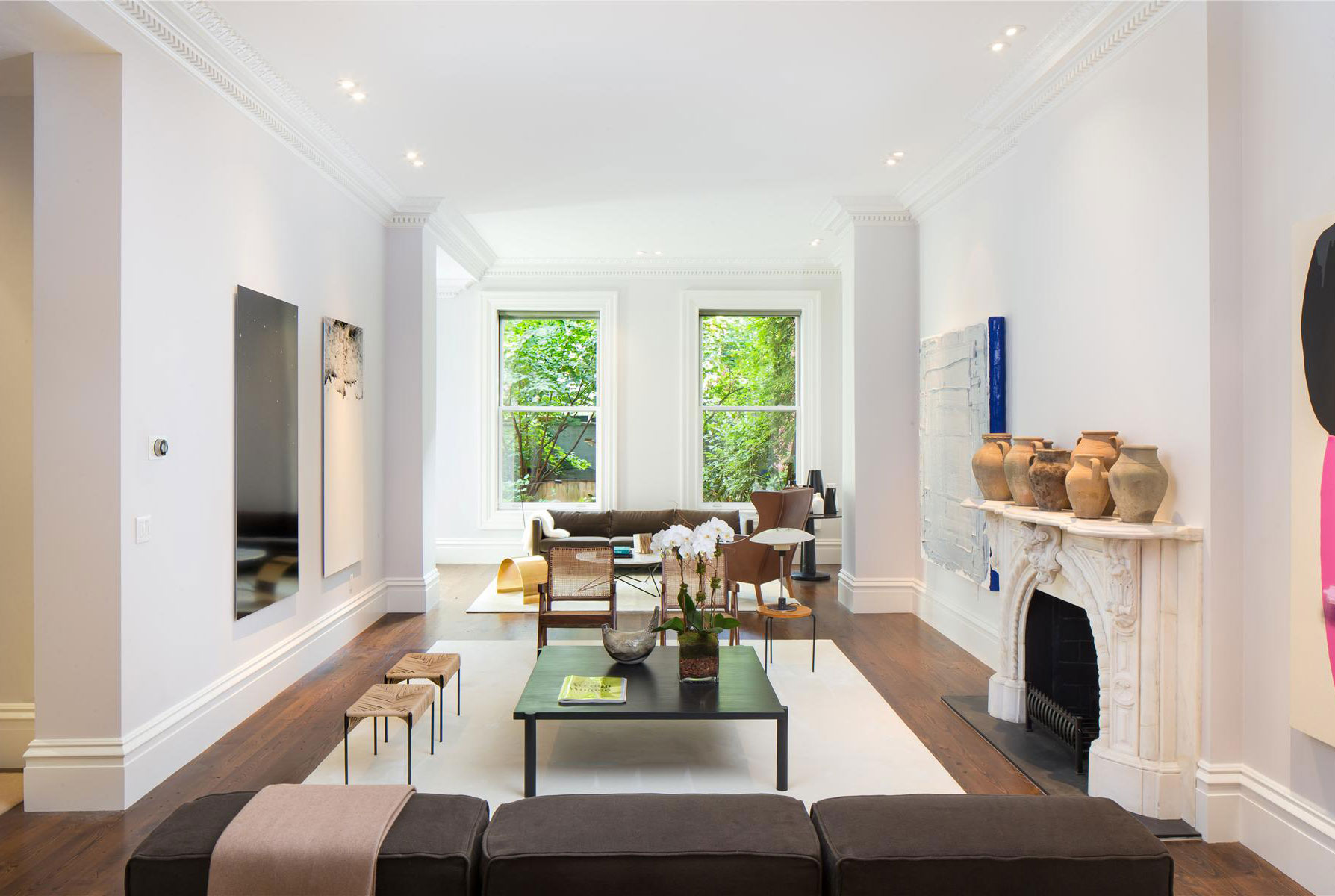 7 Fireplaces in Greenwich Village