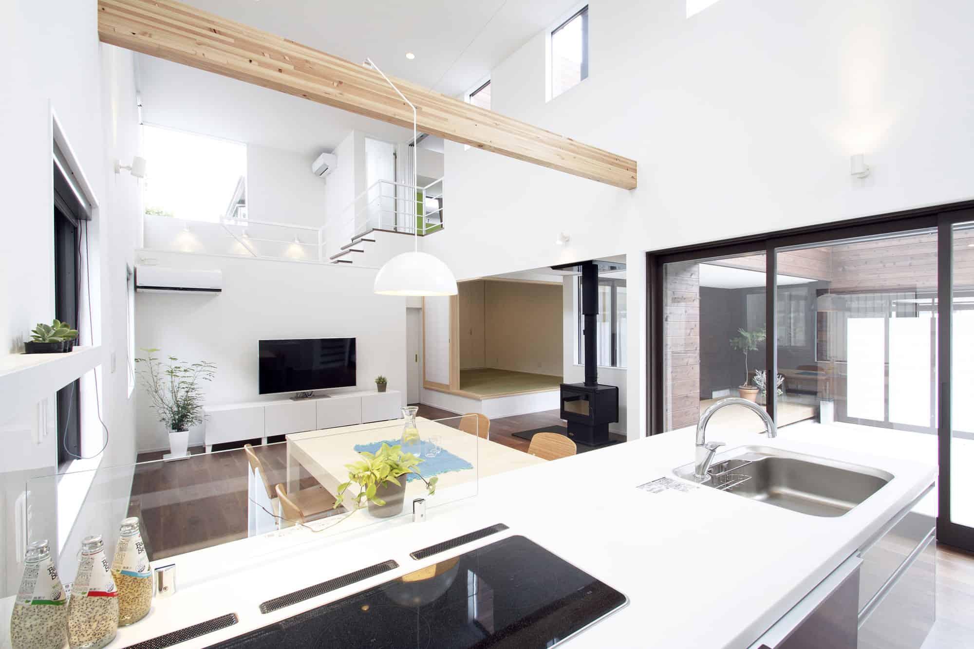 A Courtyard House by Arakawa Architects & Associates