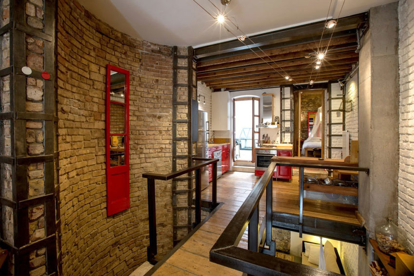 A Duplex in a Historic Building in Istanbul (4)