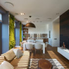 Apartment with Wall Gardens by SVOYA Studio (7)