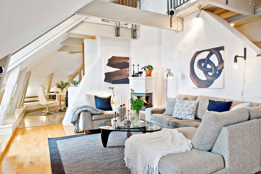 Attic Apartment in the Center of Gothenburg (5)