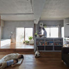 Bath Kitchen House by Takeshi Shikauchi Architect Office (4)