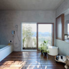Bath Kitchen House by Takeshi Shikauchi Architect Office (12)