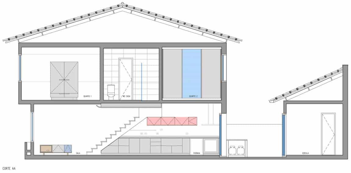 Casa de Vila TA e LB by DT Estúdio (24)