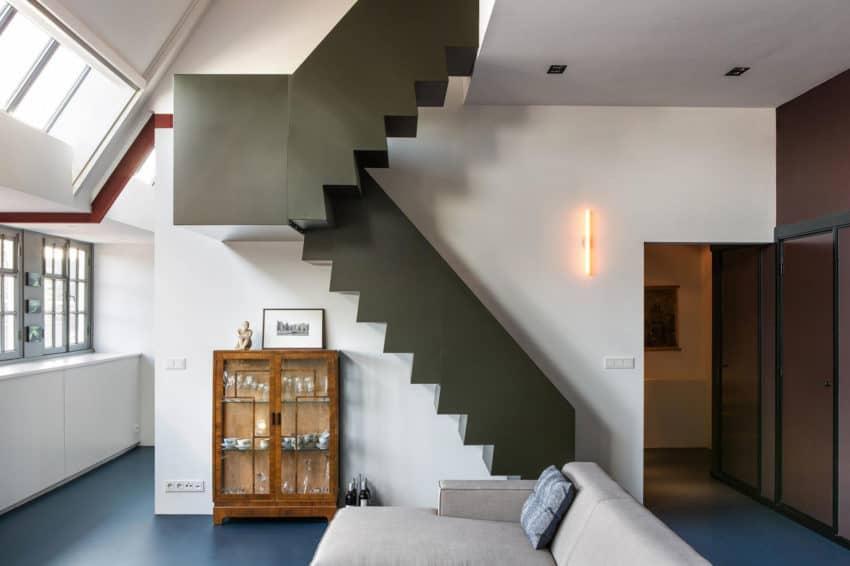 Floris versterstraat by studio ruim for Arredare loft open space
