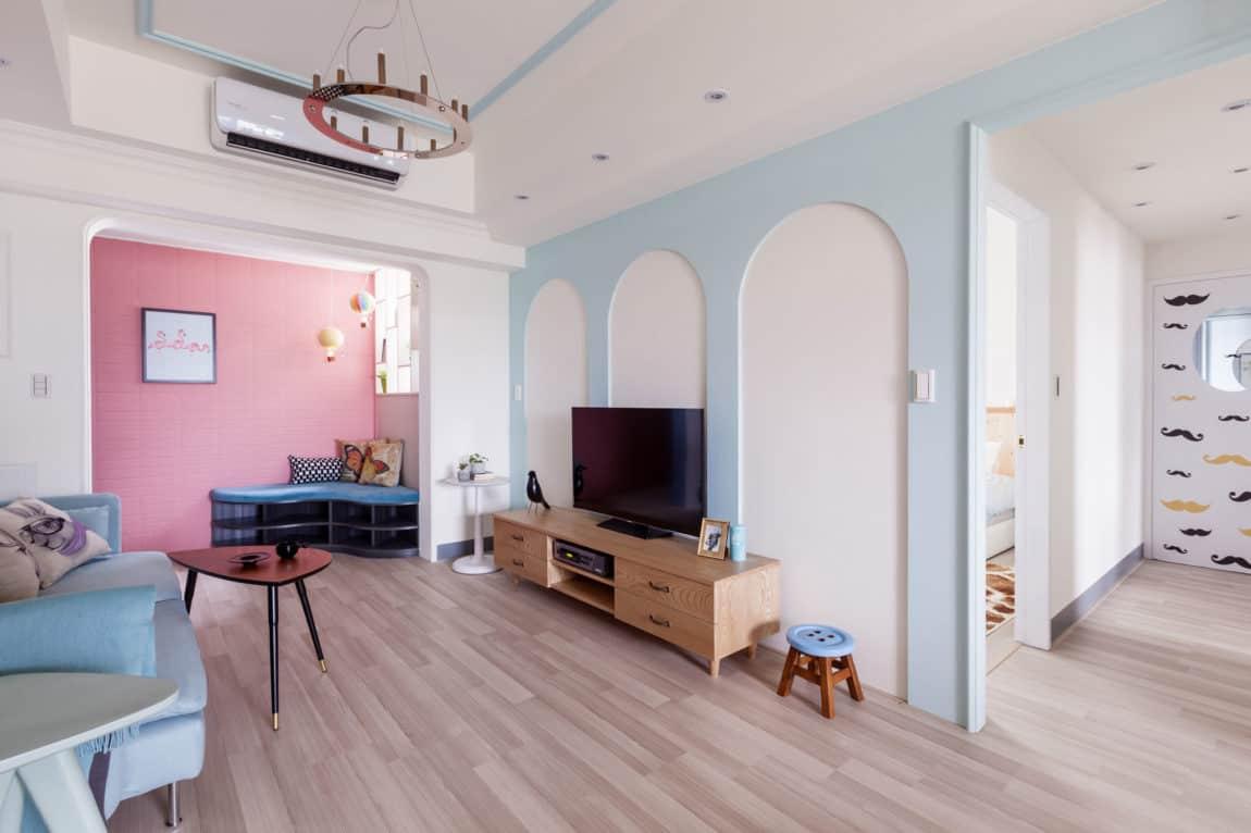 The Wonderland Apartment by House Design Studio (5)