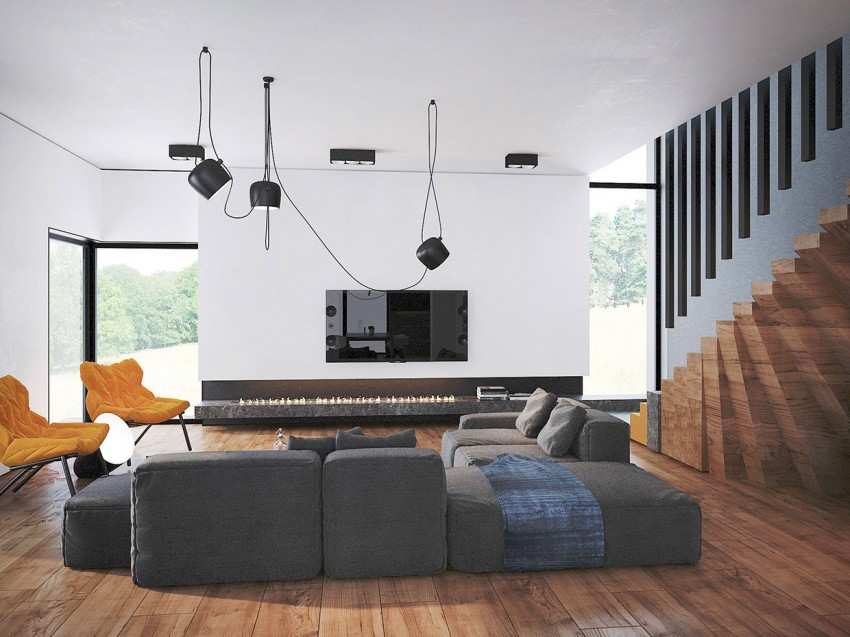 Trendy Contemporary Home by Pavel Voytov (1)