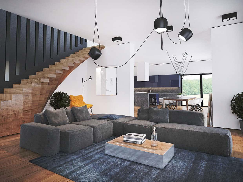 Trendy Contemporary Home by Pavel Voytov