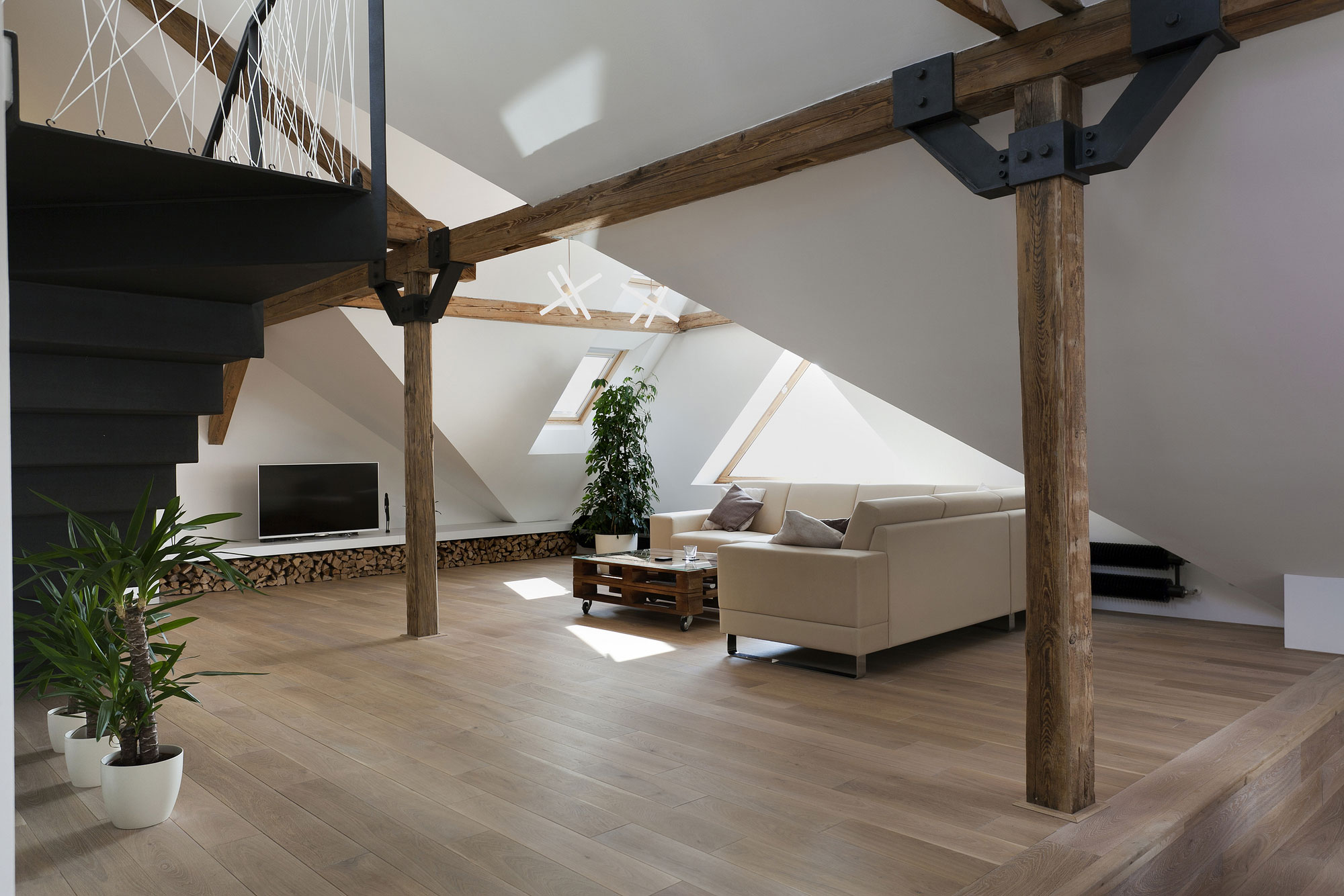 Loft Reconstruction by B² Architecture