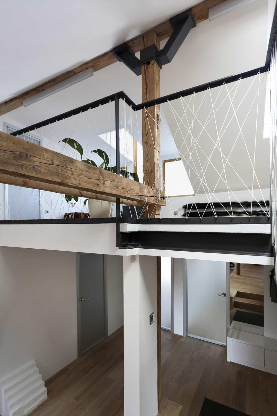 Attic Loft Reconstruction by B² Architecture (10)
