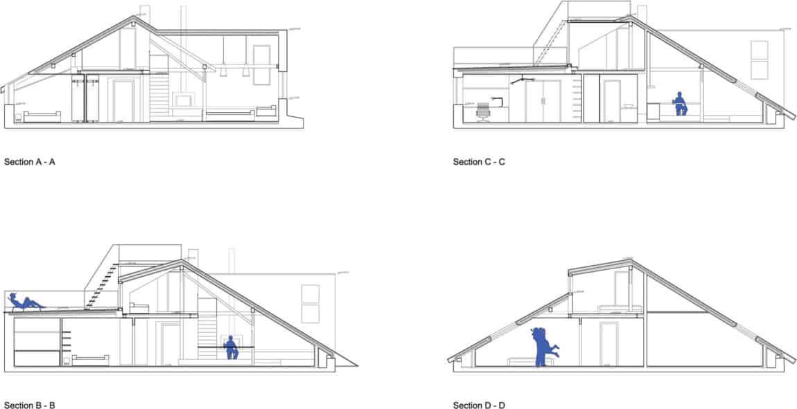 Attic Loft Reconstruction by B² Architecture (13)