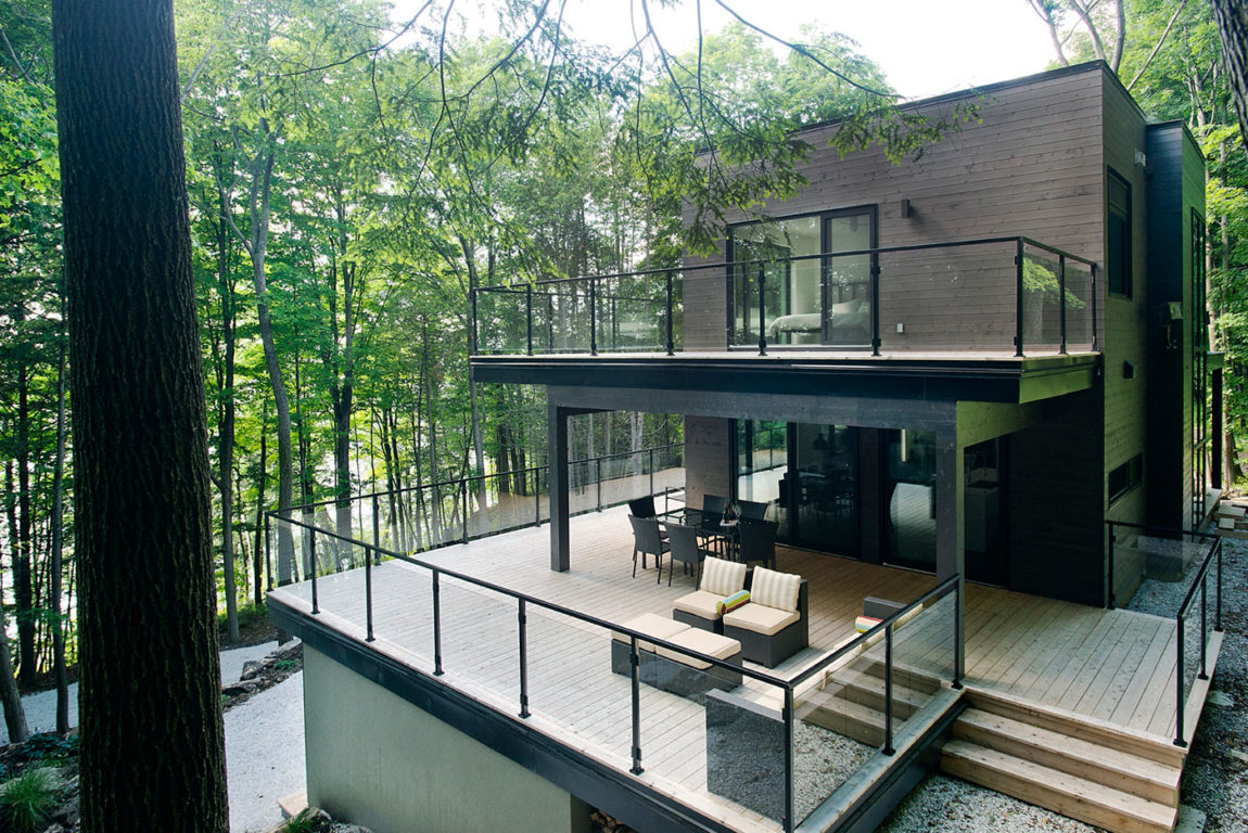 Chalet Lac Champlain by Boom Town (2)