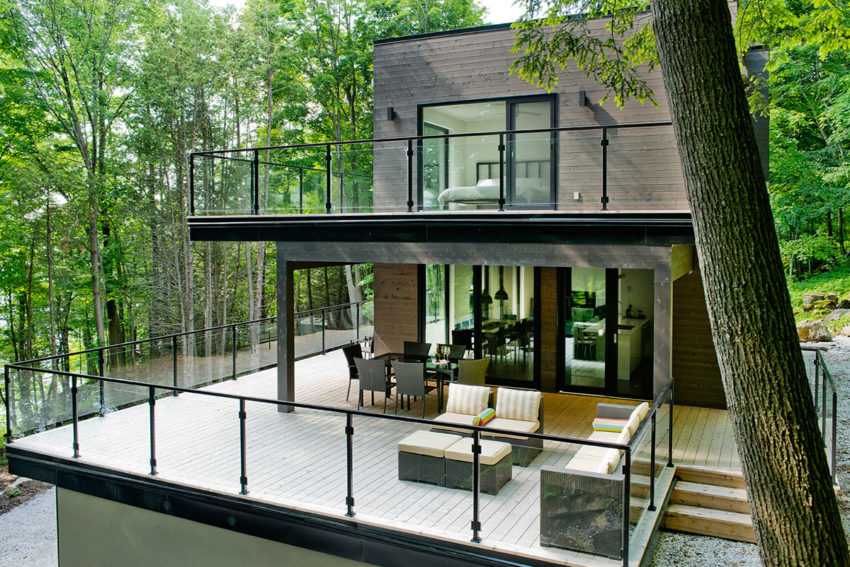 Chalet Lac Champlain by Boom Town (3)
