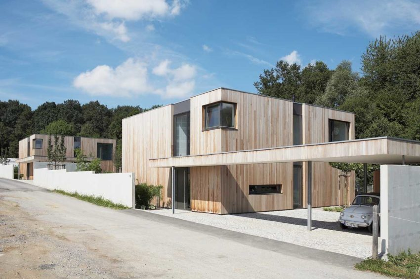 Houses B1 & B2 by Zamel Krug Architekten (1)