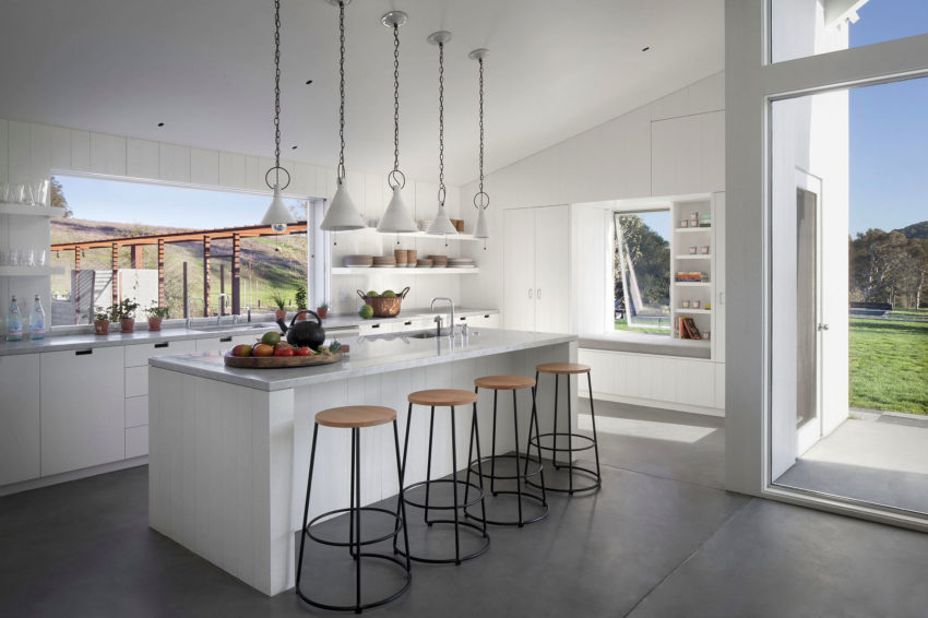 Hupomone Ranch by Turnbull Griffin Haesloop Architects (8)