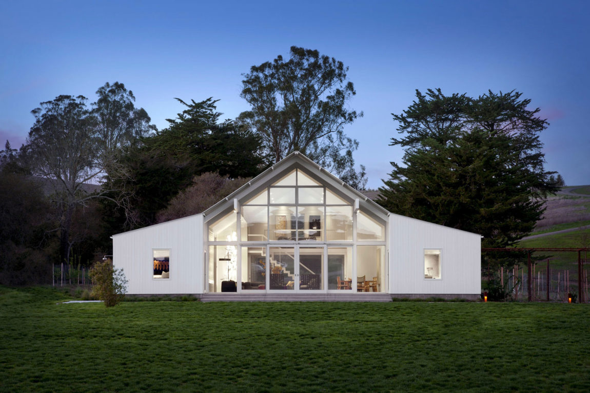 Hupomone Ranch by Turnbull Griffin Haesloop Architects (12)
