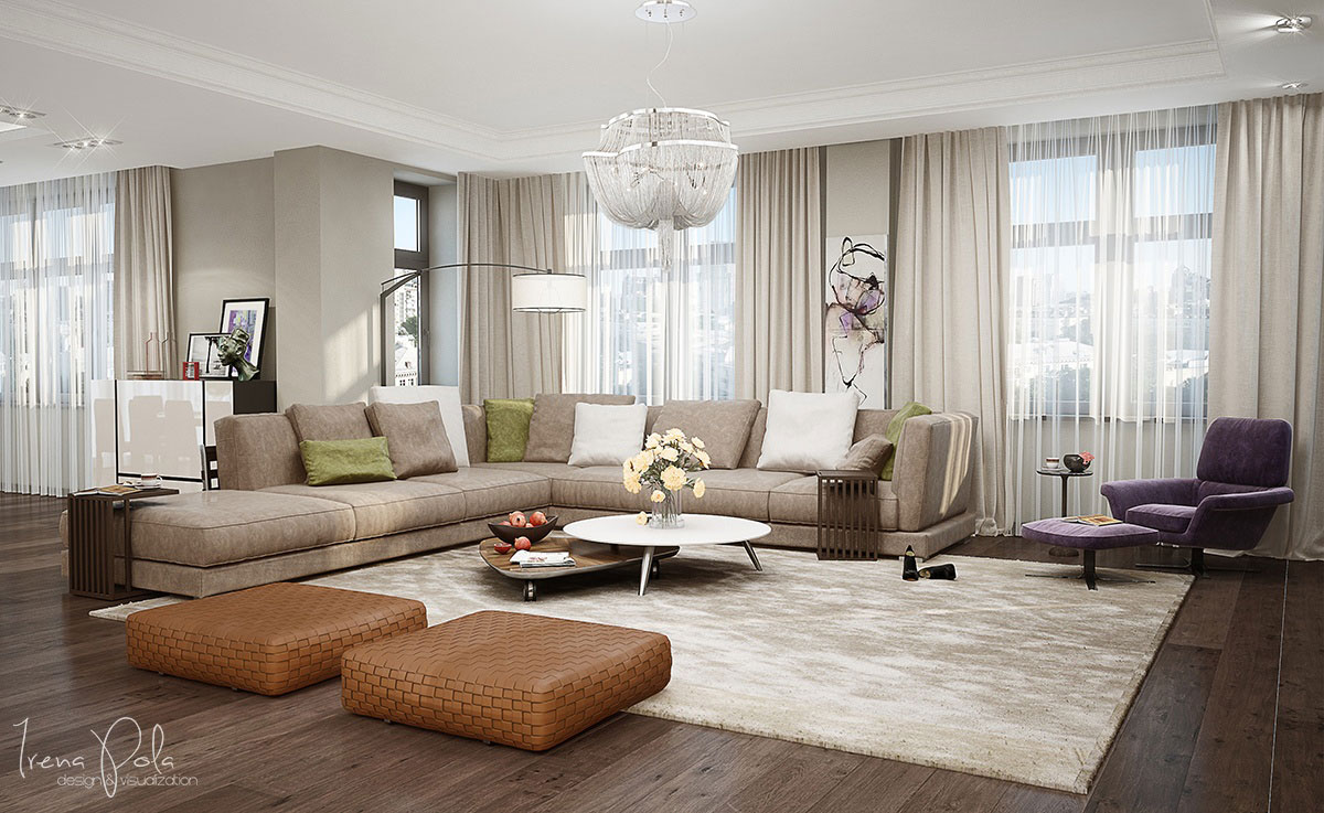Kiev Apartment by Irena Poliakova