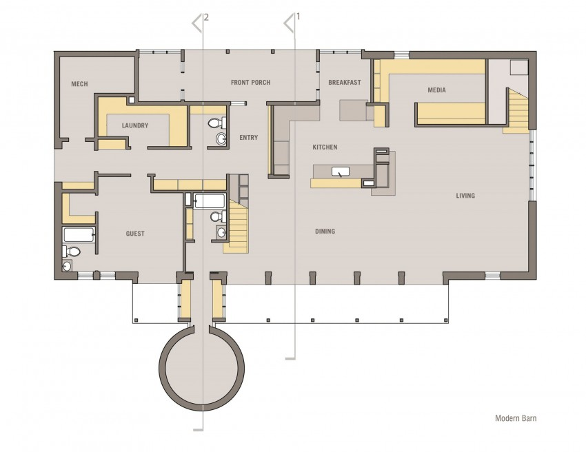 Modern Barn by Specht Harpman (11)