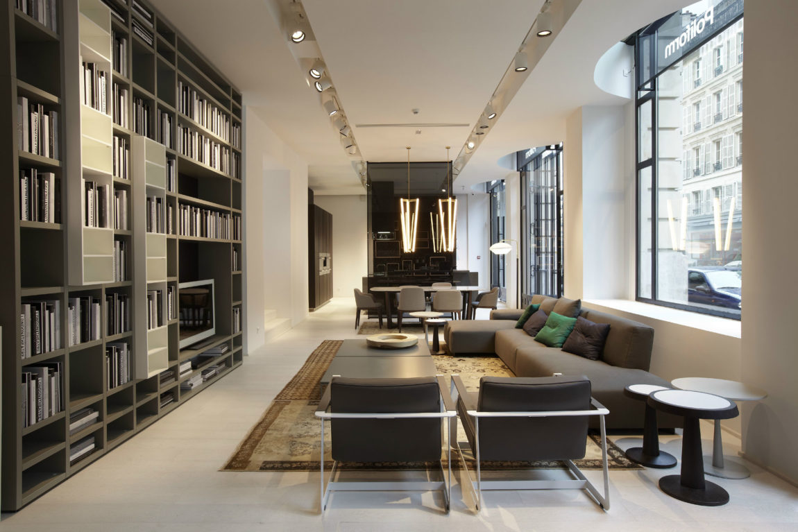Poliform Showroom Paris by Bestetti Associati Studio (1)