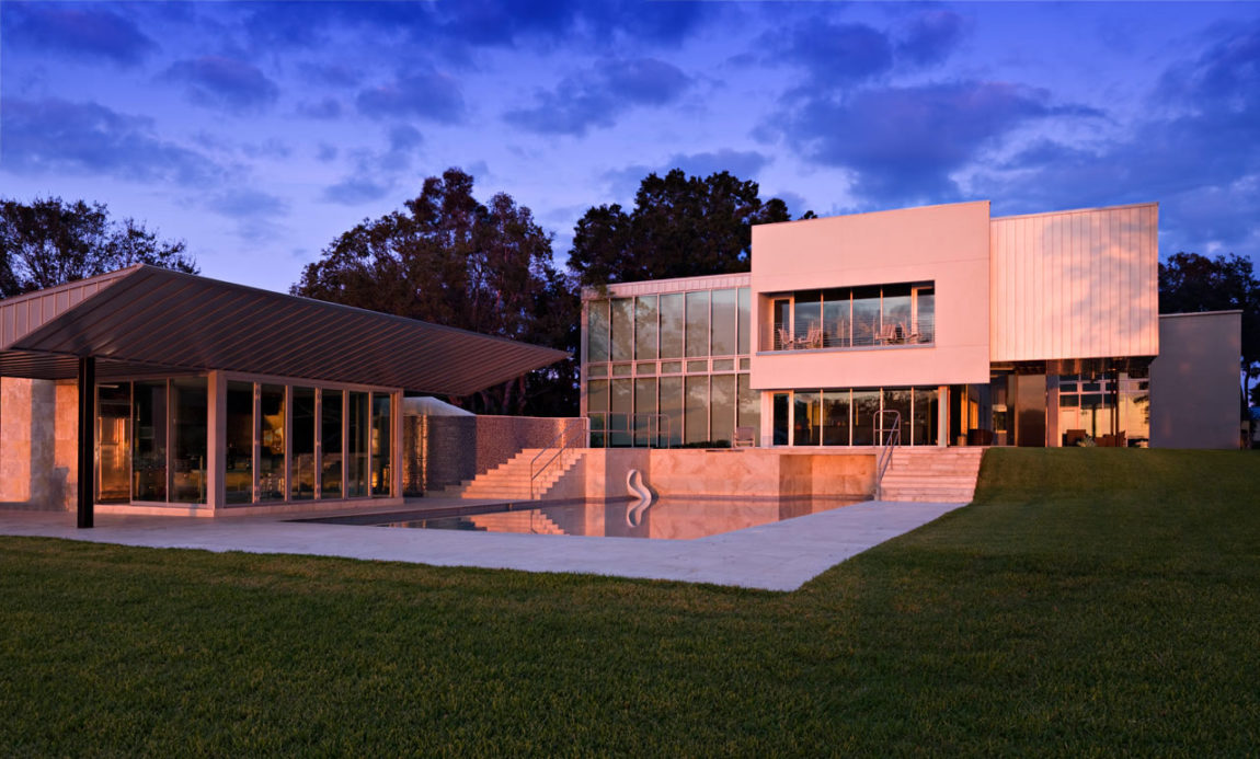 Residence on White Trout Lake by Alfonso Architects (14)