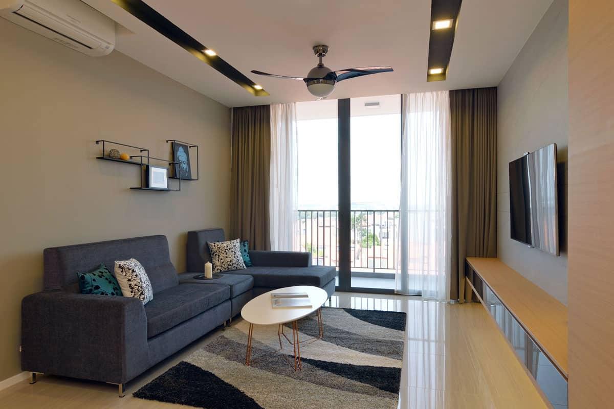 Singapore apartment by knq associates